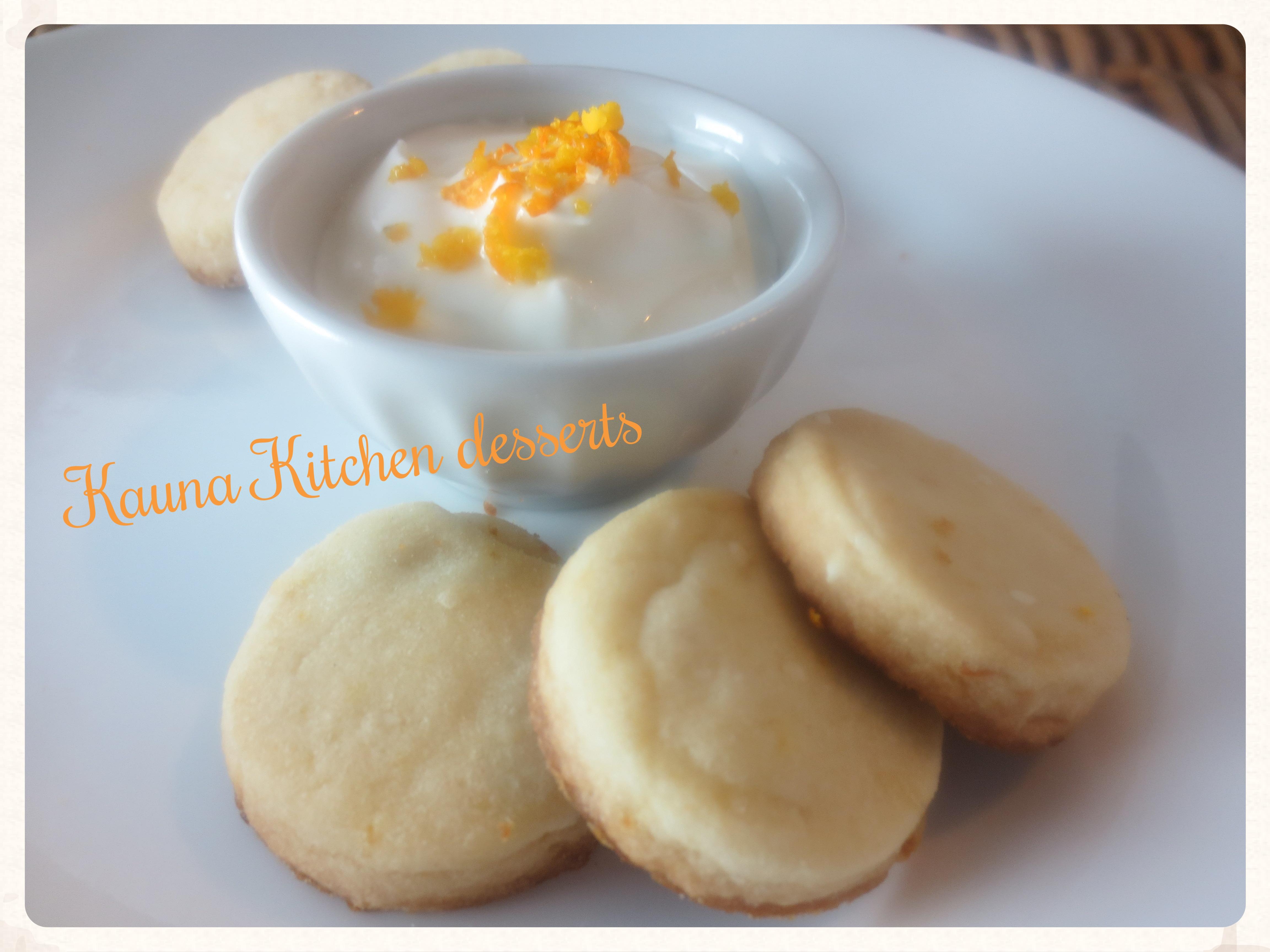 Nigerian shortbread cookies