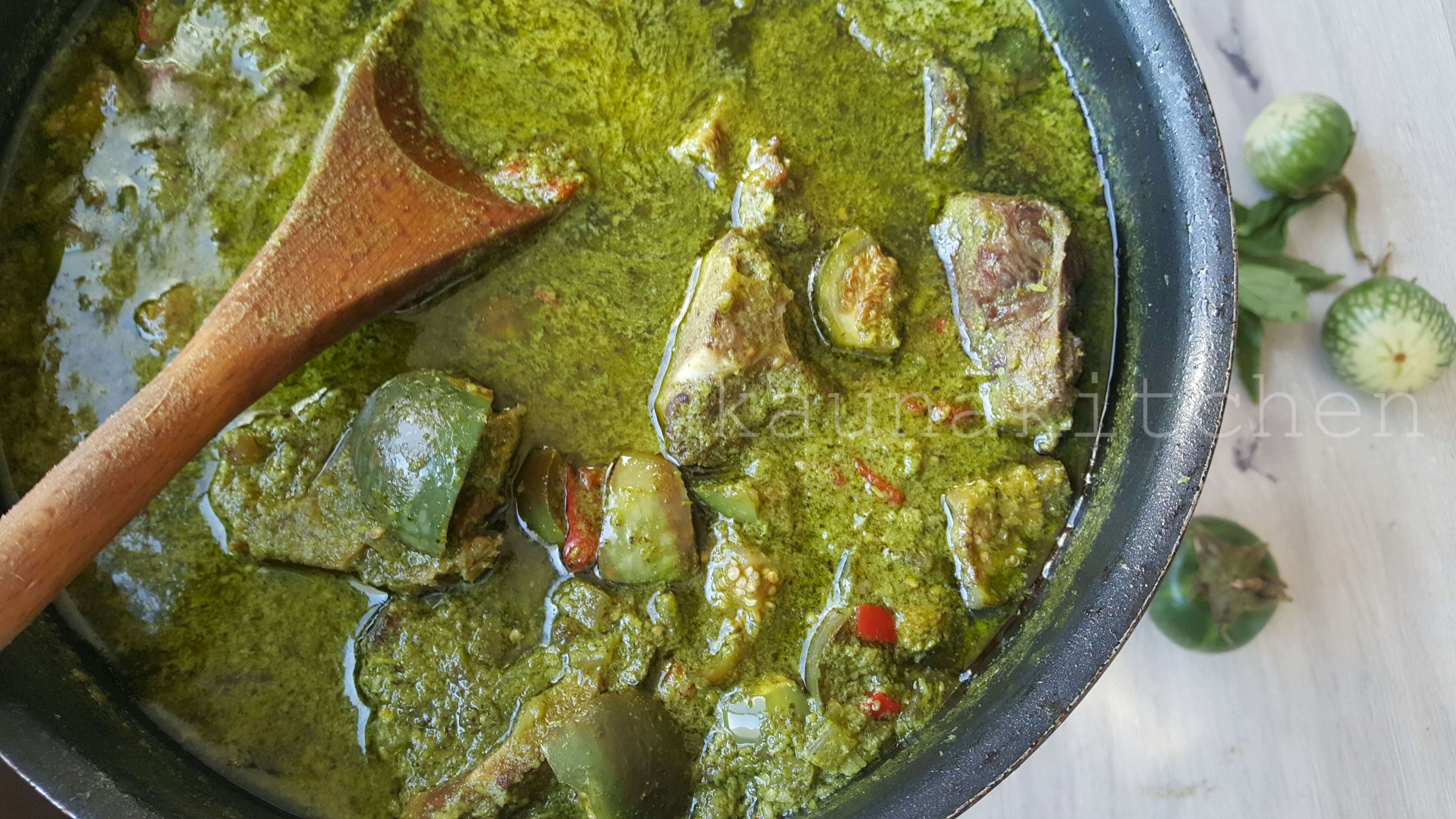 Nigerian sauce