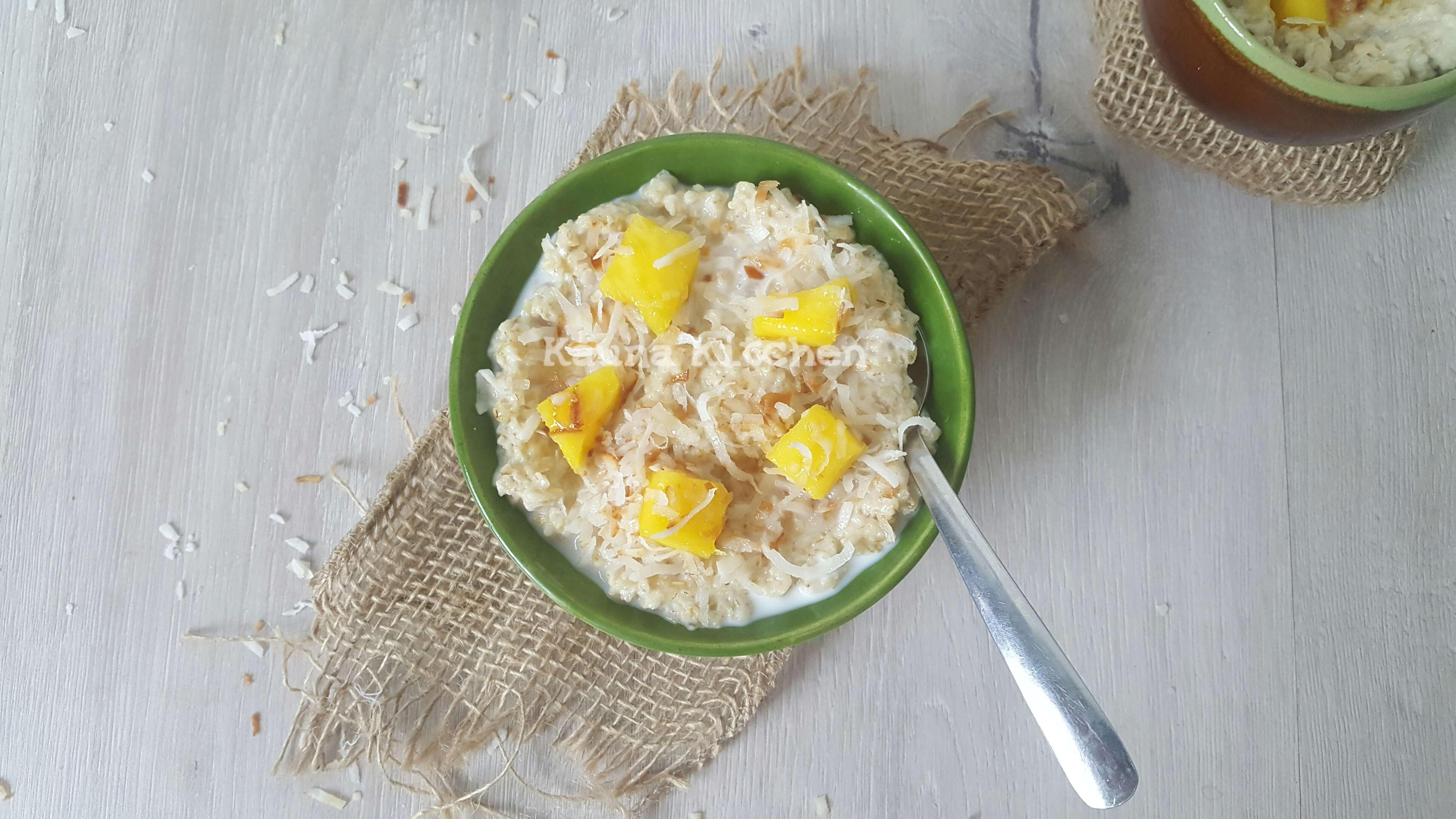Nigerian oatmeal porridge