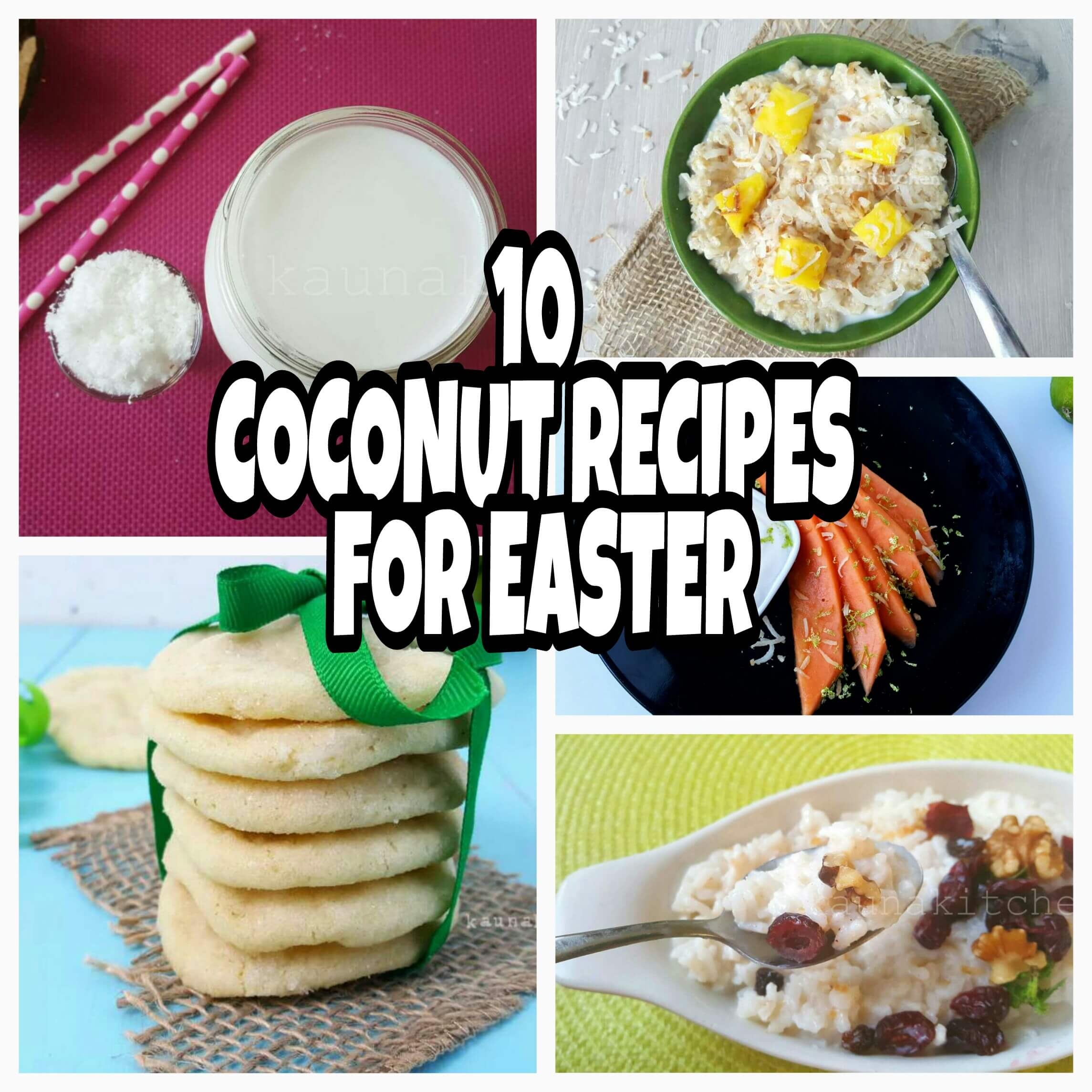 nigerian cooconut recipes for easter